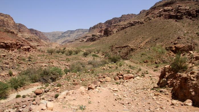ruinstad i jordanien