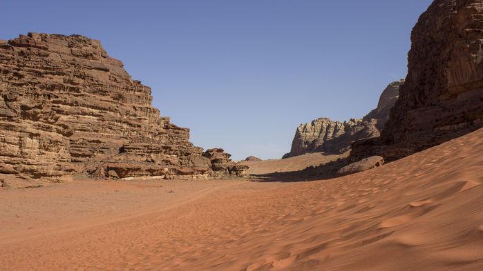 Wadi Rum öken