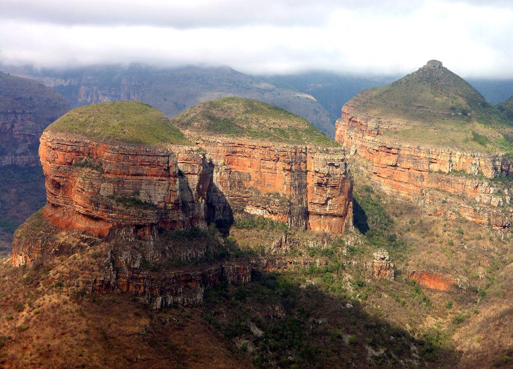 Blyde River Canyon i Drakensbergen.