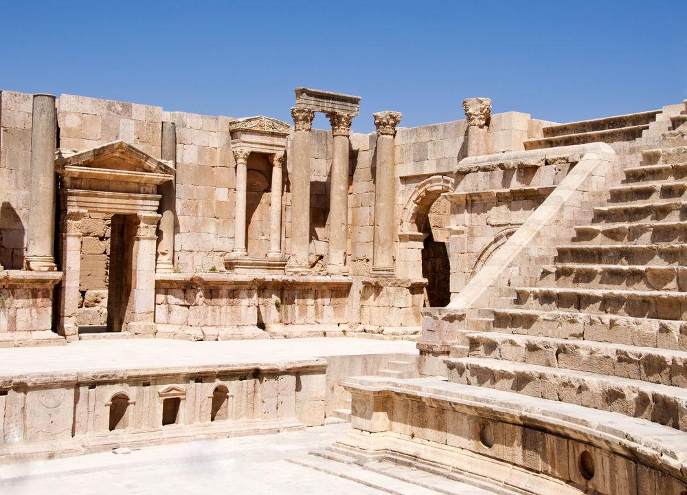 Amfiteater i Jerash