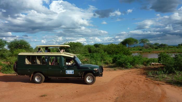 På safaritur i Tsavo