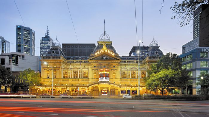 Princess Theatre i Melbourne.