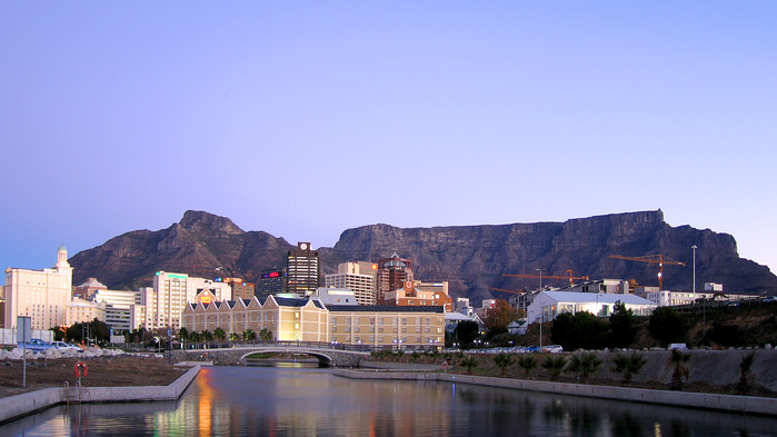 Waterfront i Cape Town