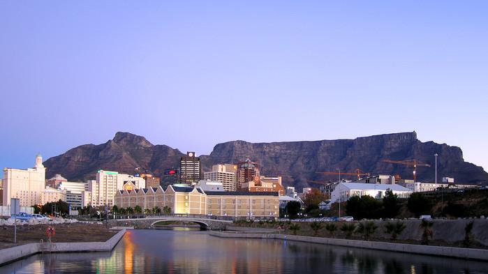 Waterfront i Kapstaden.