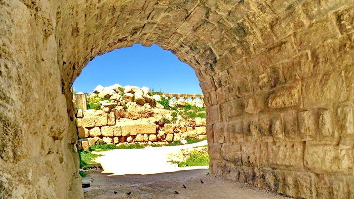 romerska ruiner i Jerash
