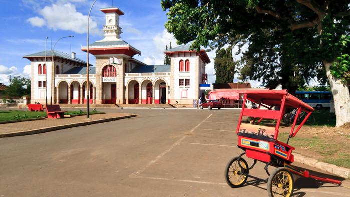 Antsirabes vakre stasjonsbygning fra 1923