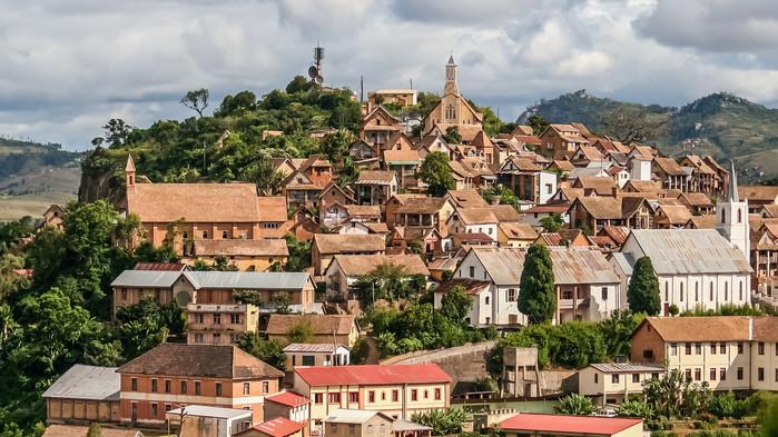 Fianarantsoa, hvis navn betyr Byen der man lærer seg noe bra.