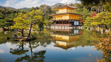 Kyoto, den gyllene paviljongen