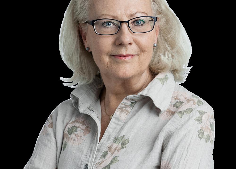 Trädgårdsskribenten Agneta Ullenius är vår ciceron på resan.