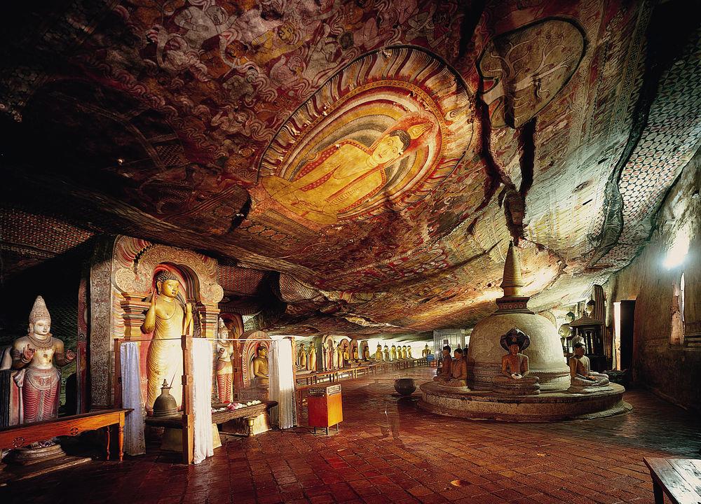 <P>Grottene i Dambulla</P>