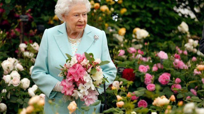 Drottning Elizabeth är en trogen gäst och beskyddare av Chelsea Flower Show.